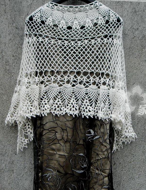 Crochet Shawls Crochet Pattern Of Lace Shawl Wrap Fine Fabulous Lace