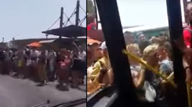 Κορυφαίο βίντεο: Δρομολόγιο του τρόμου με λεωφορείο από το Ελληνικό στη Σαρωνίδα