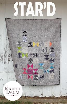 STAR'D Quilt Pattern // Kristy Daum // St. Louis Folk Victorian