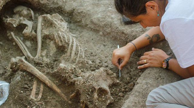 8,500-year-old burial discovered in northwestern Turkey