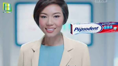 iklan pepsodent action 123