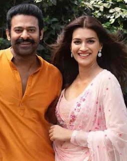Kriti Sanon With Prabhas