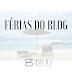 O blog ficará sem atualizações até o próximo dia 9 de agosto