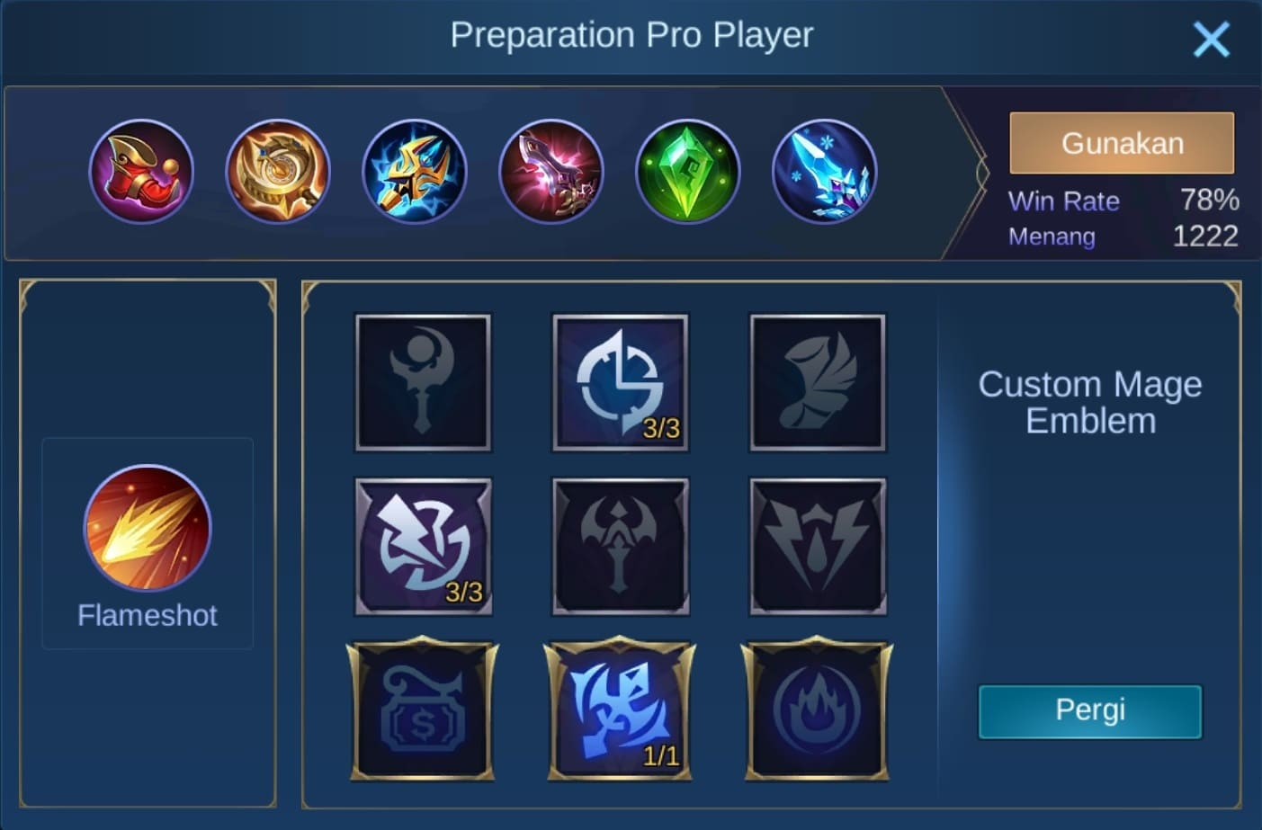build item lylia mobile legends (ML) tersakit