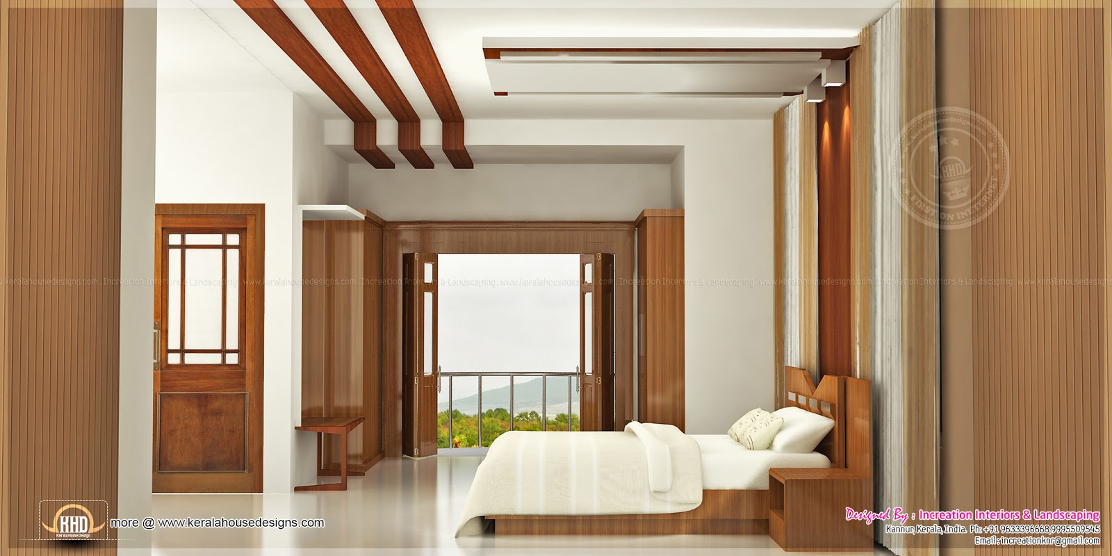 Foyer Plan Kerala : D interiors by increation kerala home design