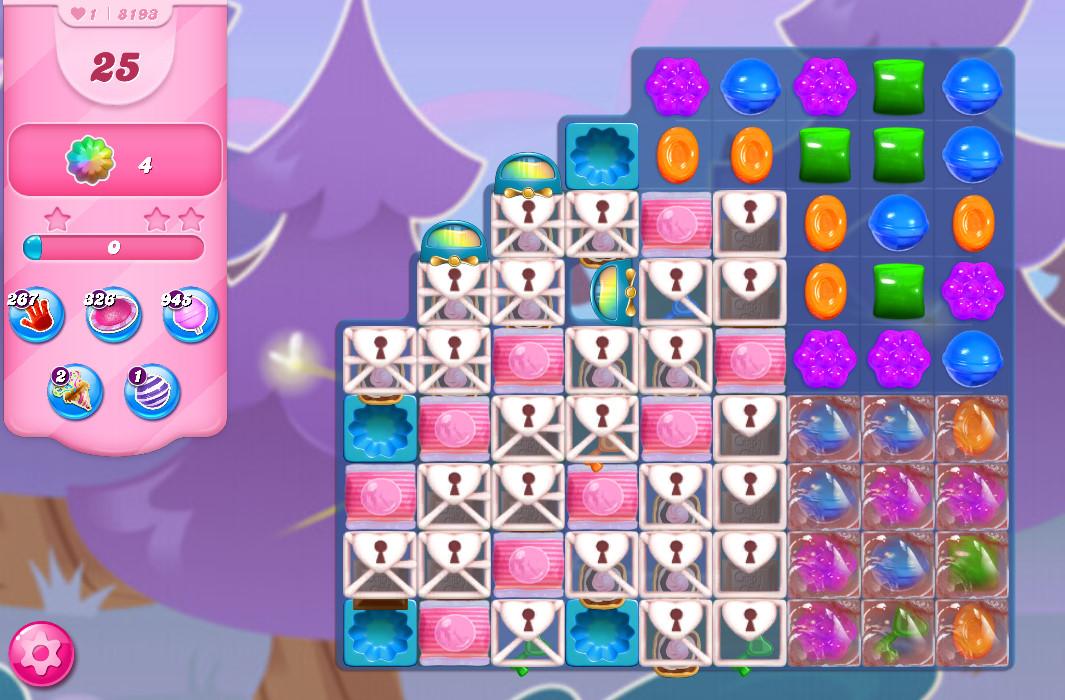 Candy Crush Saga level 8193