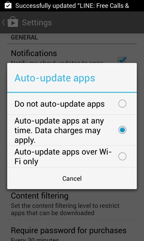 Membuat Aplikasi Android Auto Update 4