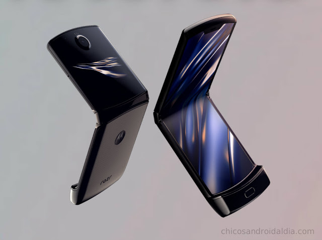 Motorola Razr: pantalla plegable que promete no decepcionar
