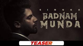 Badnam Munda Mp3 Song Download Singga