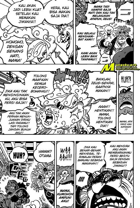 Manga One Piece Chapter 1013 Bahasa Indonesia