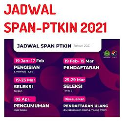 Prodi Span Ptkin 2021 Dan Jadwal Pendaftaran Span Ptkin 2021 Pagunpost