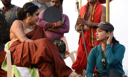 Baahubali 2 Movie Making Stills Video