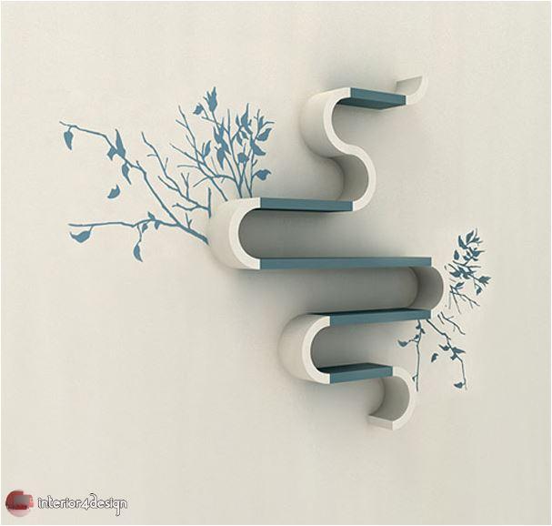70 Best Bookshelf Designs 59