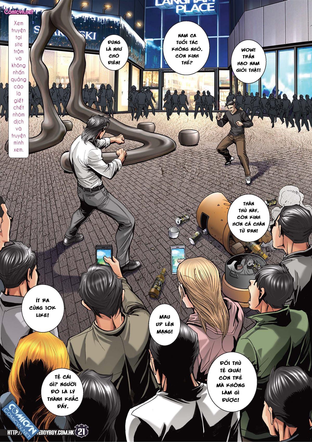 Người Trong Giang Hồ chapter 2093: nó là tay trong trang 20