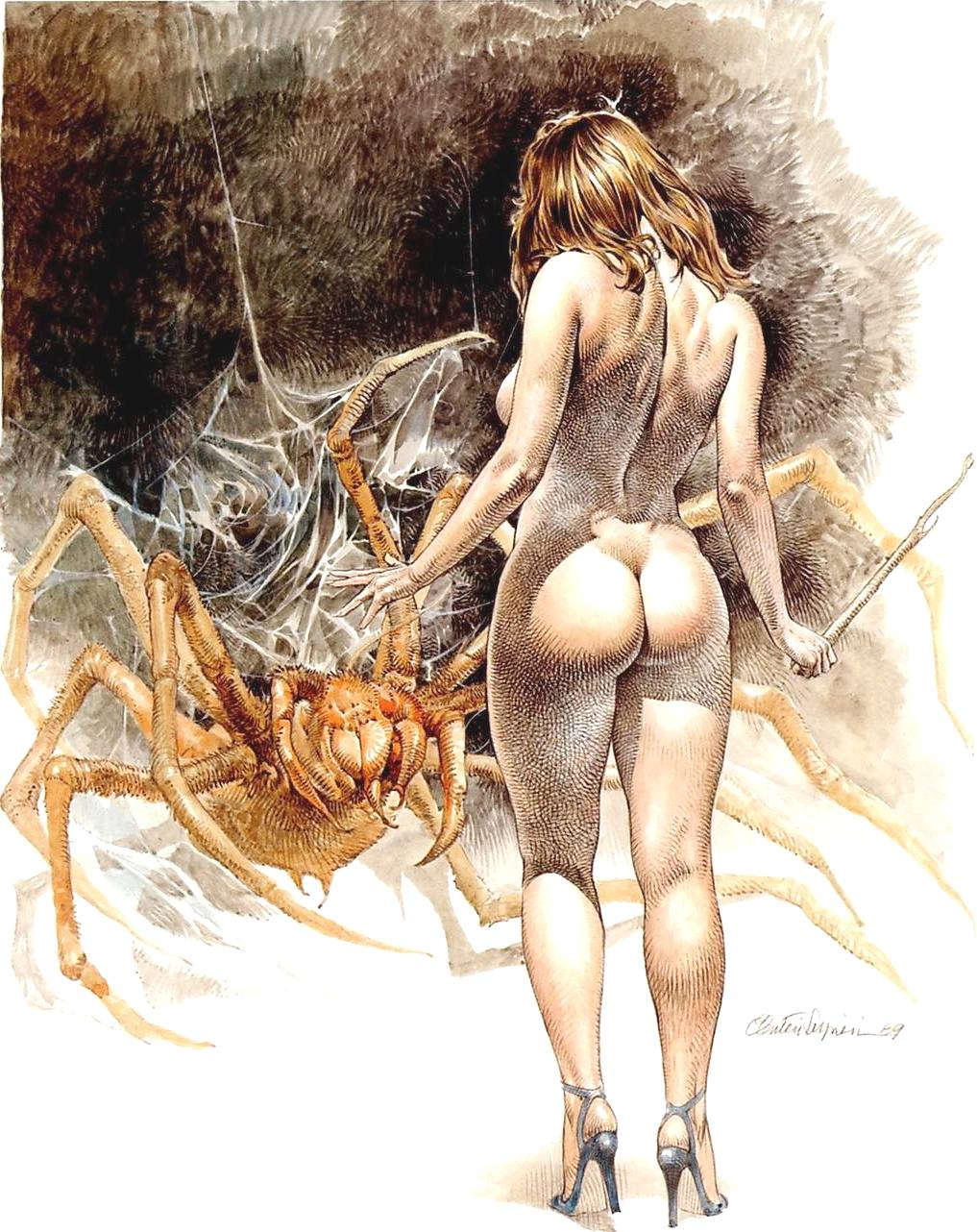 Druuna is an erotic science fiction and fantasy comic book character created by Italian cartoonist Paolo Eleuteri Serpieri.
