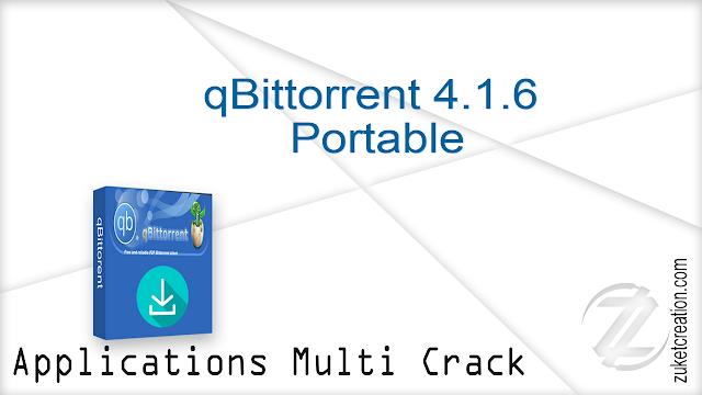 qBittorrent 4.1.6  Portable  |  16 MB