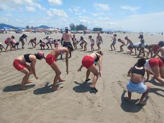 Secretaria de Esporte de Registro-SP promove integração com Escolinha de Surf da Ilha Comprida