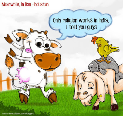 Cartoon on Beef Ban