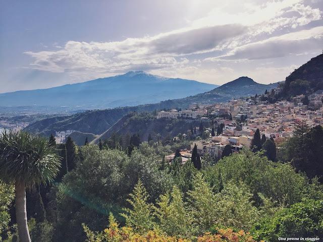 Panorama Teatro Greco di Taormina