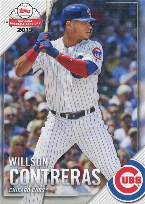 Wrigley Wax 2019 National Baseball Card Day Cubs