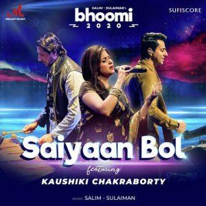 Saiyaan Bol – Bhoomi (2020)