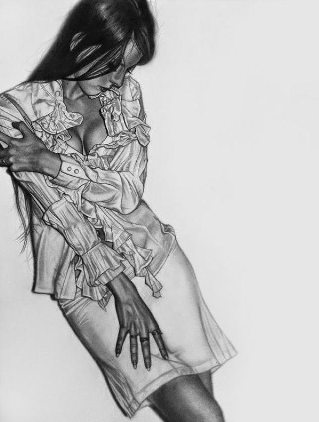 карандашом. Eddy Chang