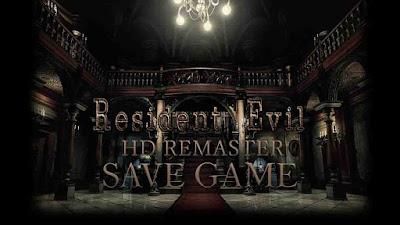 resident evil hd remaster save file