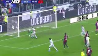 اهداف مباراة يوفنتوس وجنوي (2-1) الدوري الايطالى