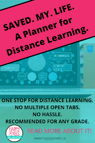 Teacher Planner for Distance Learning