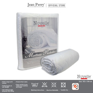 shopee things: mattress protector