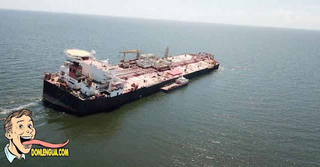 Estados Unidos emite permiso especial para descargar crudo del carguero Nabarima