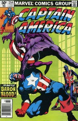 Captain America #254, Baron Blood