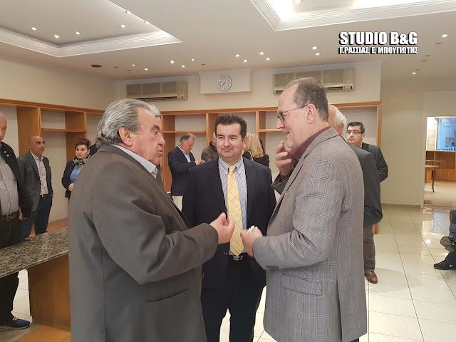 Στο εκλογικό κέντρο της Αργολίδας στο Ναύπλιο ο Παναγιώτης Νίκας