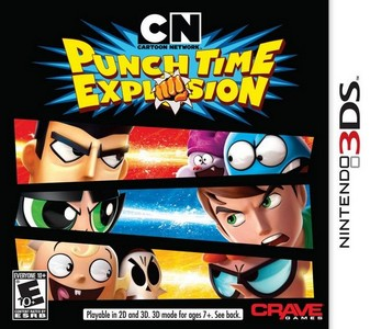 Rom Cartoon Network Punch Time Explosion 3DS
