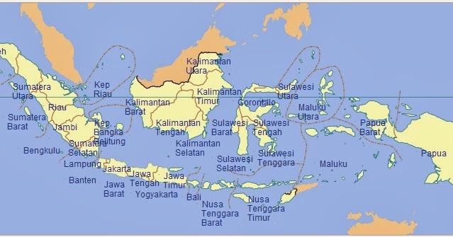 Jumlah Provinsi Di Indonesia tahun 2013  Media Belajarku