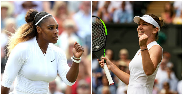 Serena Williams v Simona Halep - Saturday's #Wimbledon