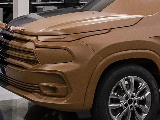 Fiat Fastback: Toro em formato SUV tem detalhes revelados