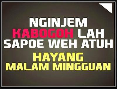 Kata Kata Bahasa Sunda Sedih Pisan Cikimmcom