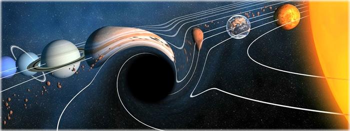 planeta 9 é um buraco negro primordial