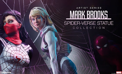 Mark Brooks Spider-Verse Statue Collection - Sideshow Collectibles