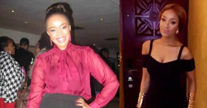 Dineo Moeketsi Throwback: Celebs before and after weight loss