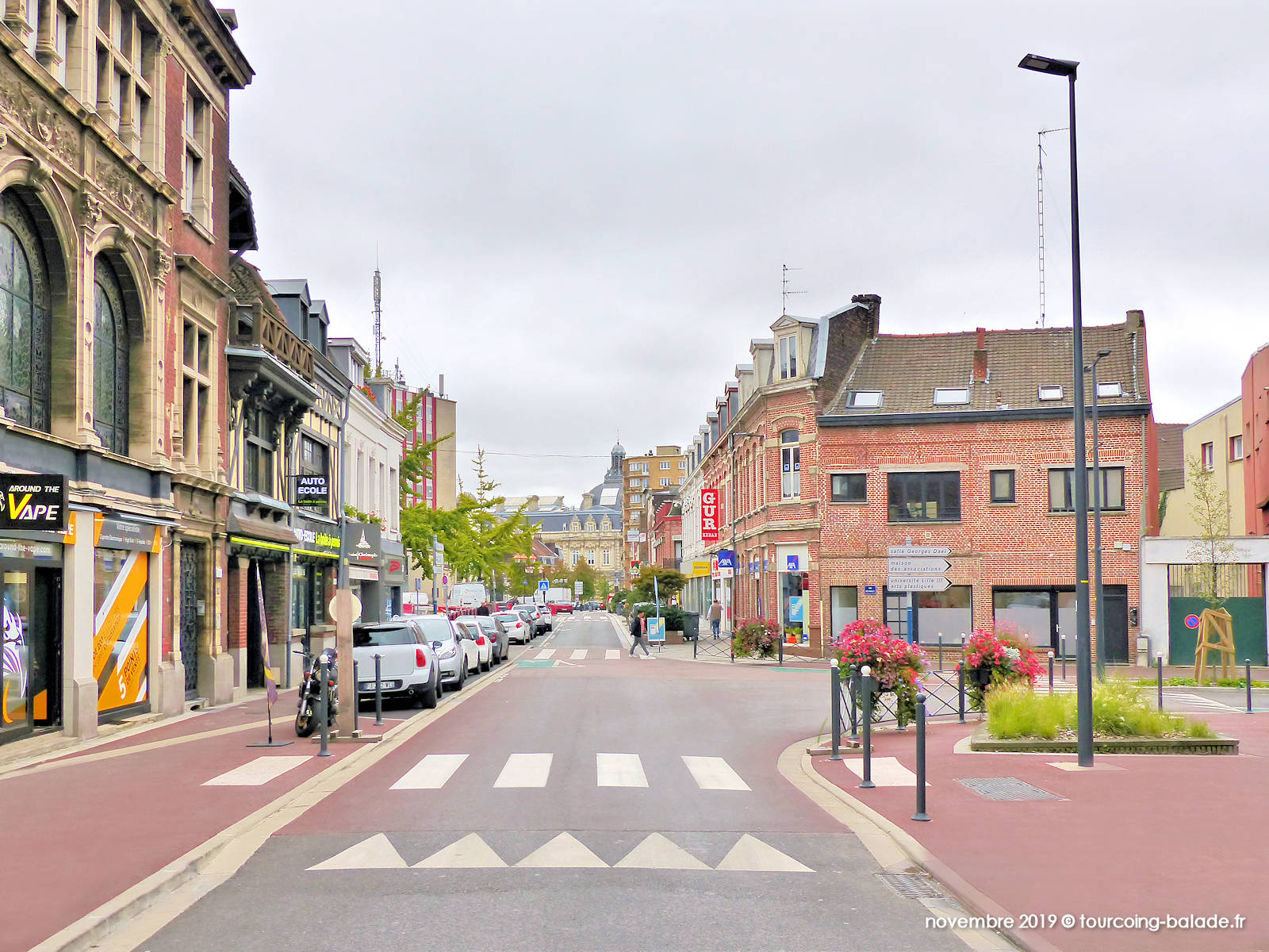 Tourcoing Rue Nationale - Around The Vape, 2019