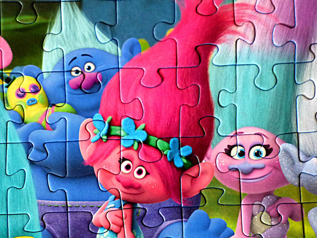gifts for children, puzzles for children, Trolls