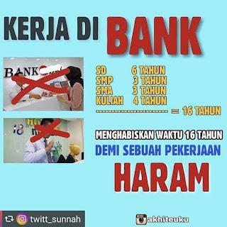 11 Dalil Haramnya Bekerja Di Bank Ribawi & Haramnya Bunga Bank :