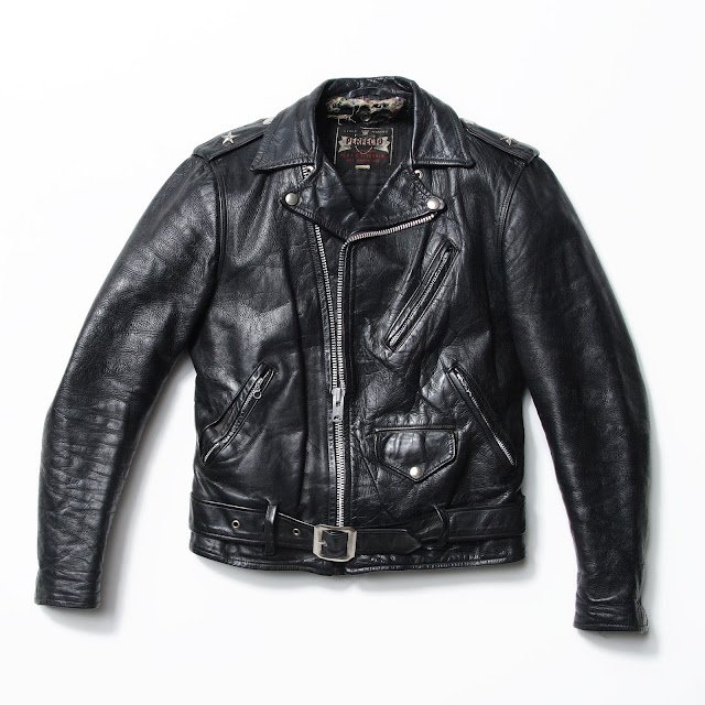 black leather jacket, One-Star Perfecto Leather Motorcycle Jacket