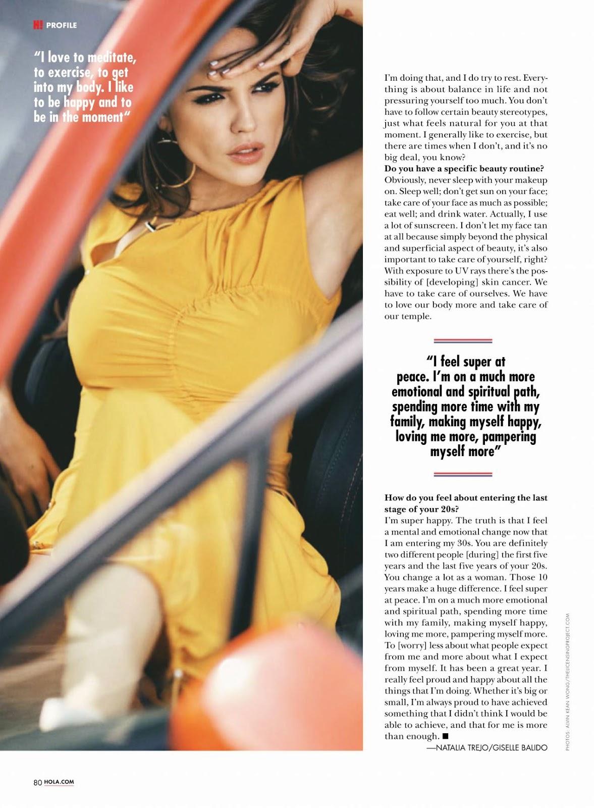 Eiza Gonzalez – Hola! Magazine USA March 2019 Issue
