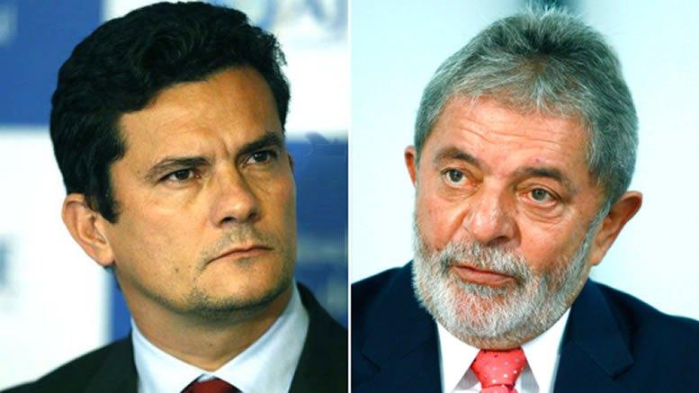 Resultado de imagem para imagem de Lula x Moro