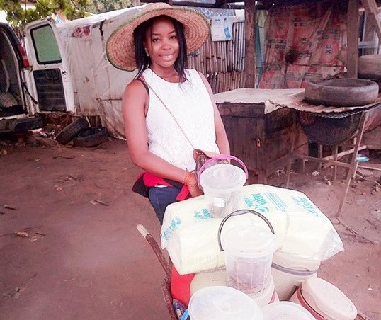 Meet Jossy Otu, A Nigerian Graduate Who Sells Food And Earns More Than ₦150,000 Monthly