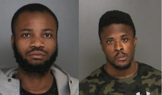 nigerians arrested forged credit card new york