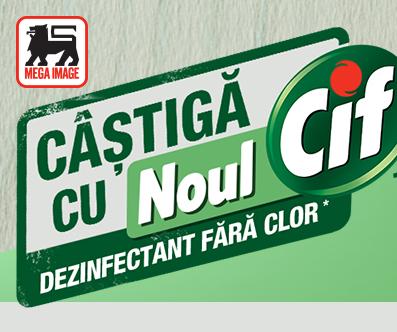 Concurs - Castiga cu noul Cif Dezinfectant fara clor - concursuri - online